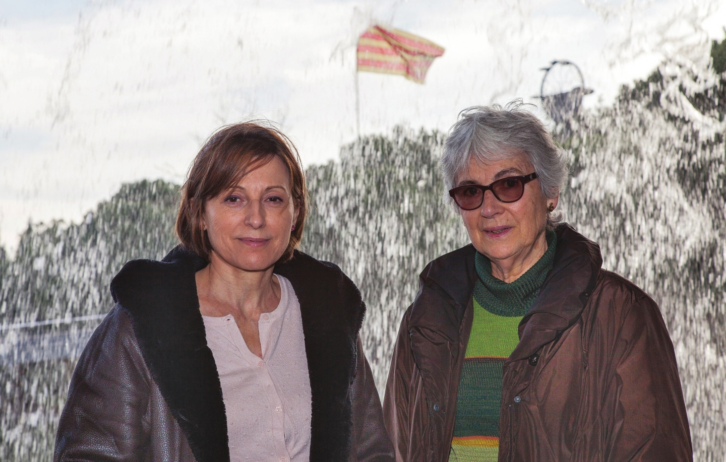 Muriel Casals  i Carme Forcadell